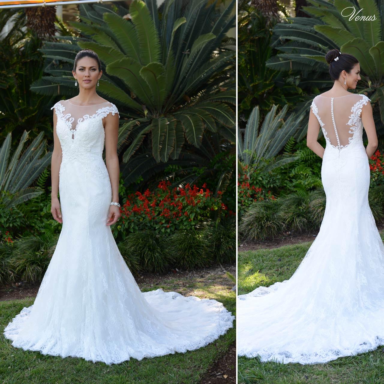 ... Abito sposa sirena articolo VE8353N Venus Bridal Italia ... 9056167f0e6