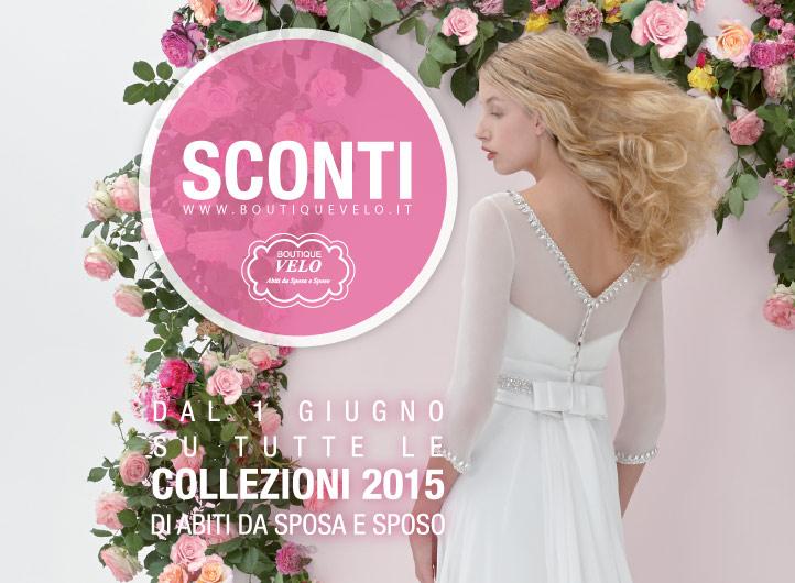 Abiti da sposa e vestiti da sposo collezioni 2015 scontati in vendita presso il miglior negozio di abiti da sposa del Veneto